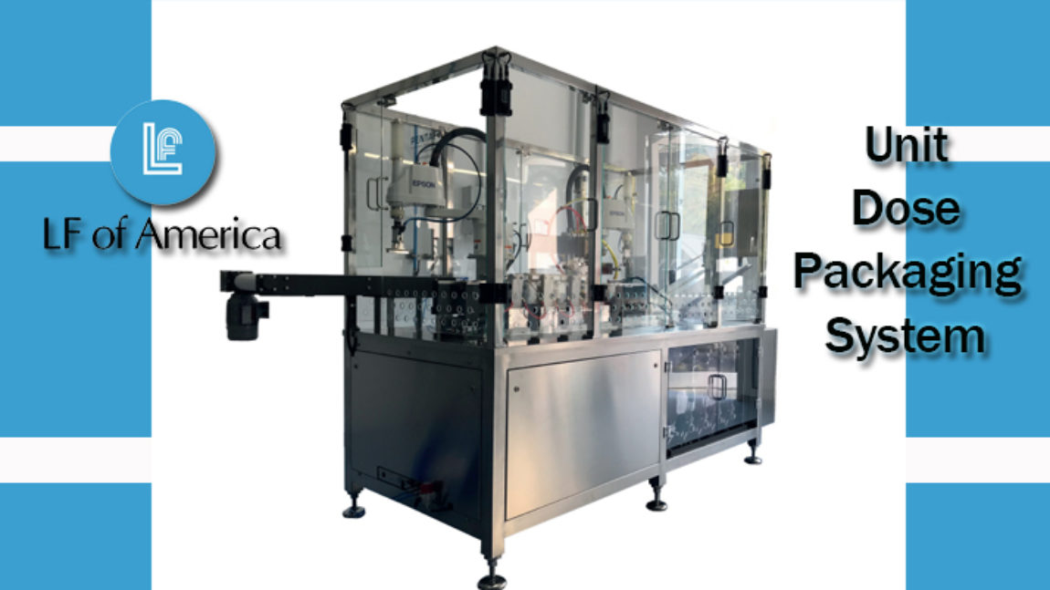 Fill & Seal Machine for Unit Dose Packaging System